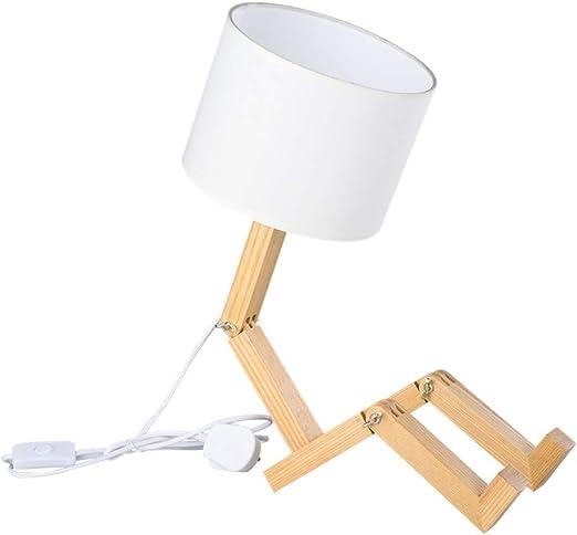 Iluminación decorativa lámpara de escritorio robot - ELINKUME ...
