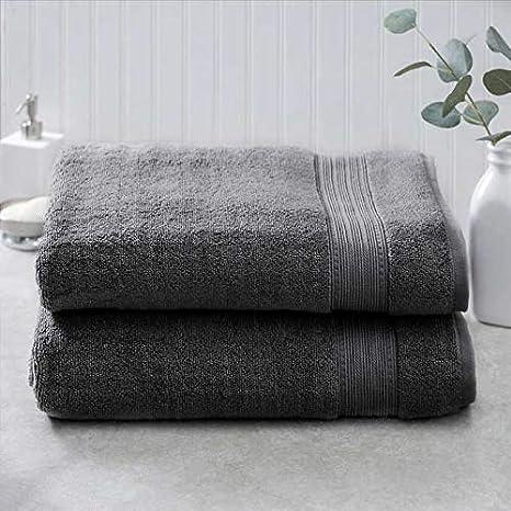 Charisma 100/% Hygrocotton 2-piece Bath Towel Set More Colors Available