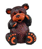 "Homestyles #47060 Large Brown Sitting Bear 16.5"" Country Garden Statue"