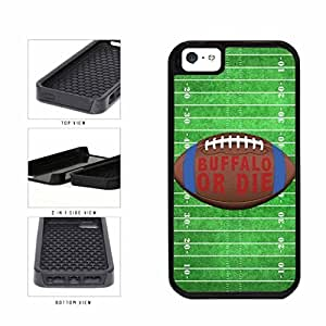 Buffalo or Die Football Field 2-Piece Dual Layer Phone Case Back Cover Apple iPhone 5 5s