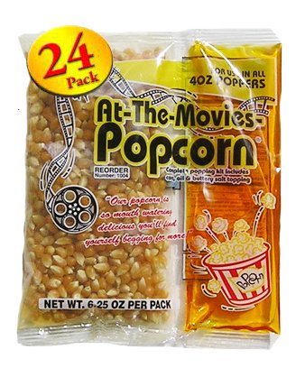 Price comparison product image 4oz Coconut Oil Portion Popcorn Kits (Case of 24)