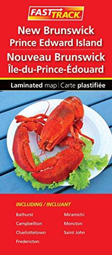 New Brunswick and Prince Edward Island - Fast Track - laminated map
