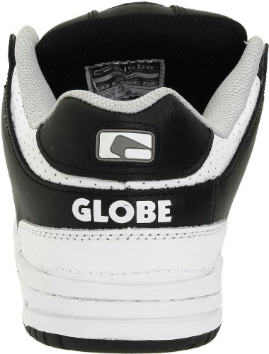 Globe Mens Scribe Skate Schoen Zwart / Wit / Grijs