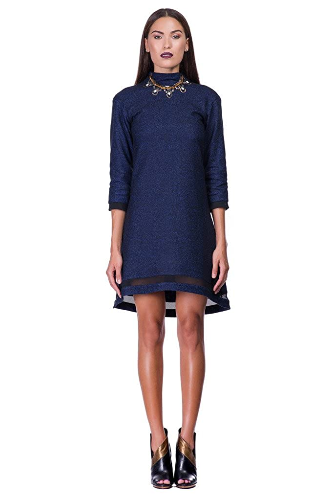 CULTRO Women's  Formal Sweater Fall Wool Dress. Made in NYC.