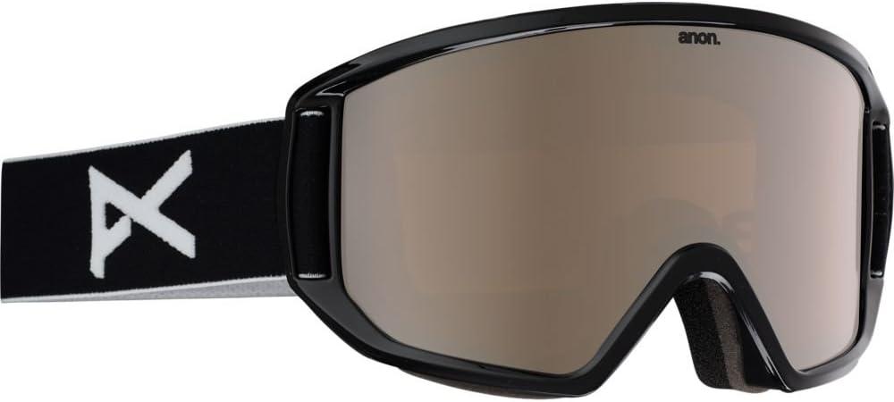 Amazon Com Anon Men S Relapse Goggle Black Frame Silver Amber Lens