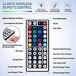 LED Strip Lights, 16.4ft RGB LED Light Strip 5050 LED Tape Lights, Color Changing LED Rope Lights with Remote for Home… 12