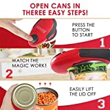 Electric Can Opener, Smooth Edges Automatic