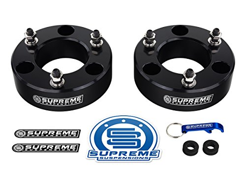 supreme-suspensions-nissan-titan-leveling-kit-2-front-lift-aircraft-billet-strut-spacers-black