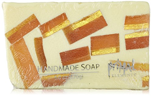 (Primal Elements Wrapped Bar Soap, Tahitian Vanilla, 6.0-Ounce Cellophane)