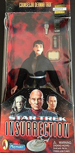 Deanna Troi Star Trek Insurrection Figure With Fabric