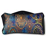 Eye Pillow Hippie Blue Designer Unisex Portable Blindfold Sleeping Eye Bag Patch