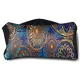 Eye Pillow Hippie Blue Designer Unisex Portable Blindfold Sleeping Eye Bag Patch