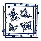 Tattered Lace Starlight Square Cutting Dies D594
