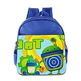 Kids Bot Team Umizoomi School Backpack Cool Style Children School Bag