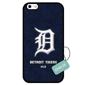 Onelee(TM) - Customized MLB Detroit Tigers Team Logo Design TPU Apple iPhone 6 Case Cover - 1