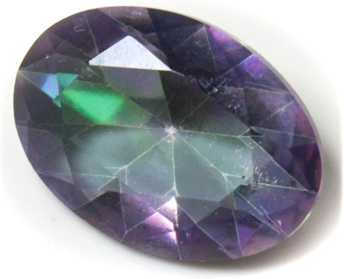 35.30 Ct Mystic Opal Emerald Shape Pendent Size for Jewelry And Making stone Multi-Color Loose Gemstone