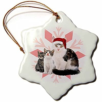 Angel Ornaments Guns Dont Kill People, Dads with Pretty Daughters Do - Snowflake Ornament, Porcelain, 3-Inch