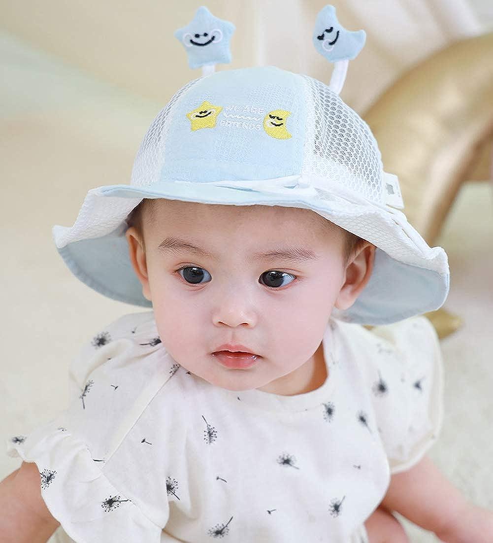 Happy Cherry Protecci/ón Ocular para beb/és contra el Polvo Nasal Facial Visera Multifuncional Sombrero para el Sol
