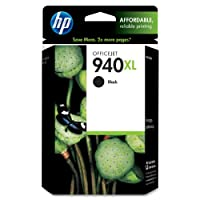 HP 940XL Black High Yield Original Ink Cartridge (C4906AN) from HP