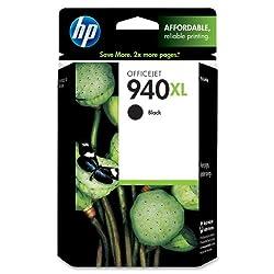HP 940XL Ink Cartridge, Black