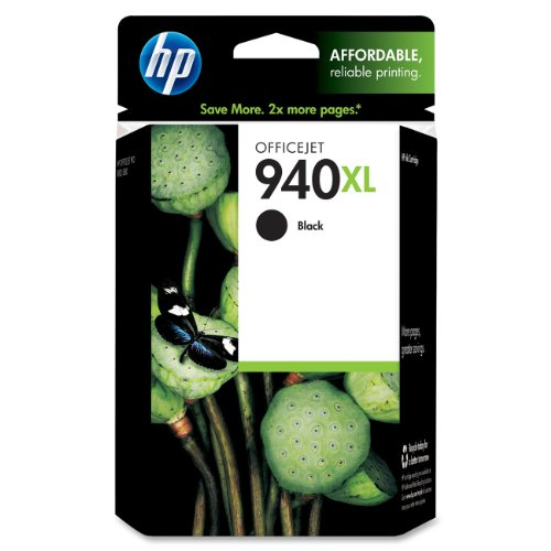 HP 940XL Ink Cartridge, Black