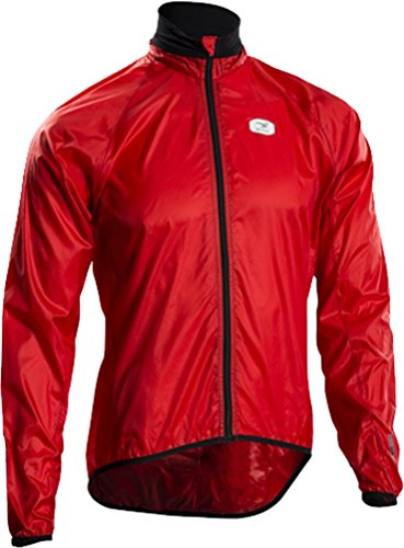 Sugoi Men's RS Jacket, Chili Red, Large