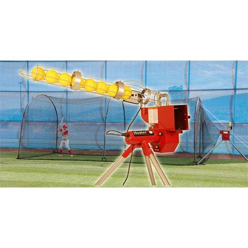 Trend Sports Heater Combo Softball Pitching Machine & Xtende
