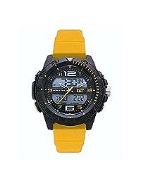 Reloj Caterpillar MC15527137 digital para Caballero con Caja de Plástico ABS y Resistencia al Agua de 10 ATM