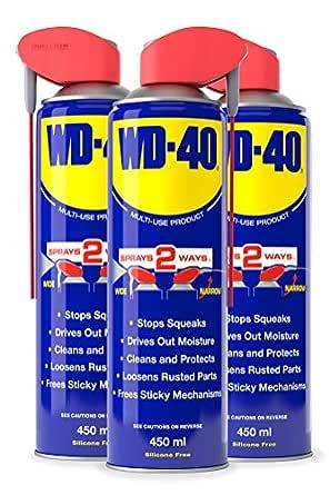 WD-40 COS223793 WD40 Smart - Pajita (450 ml, 3 unidades): Amazon.es: Amazon.es