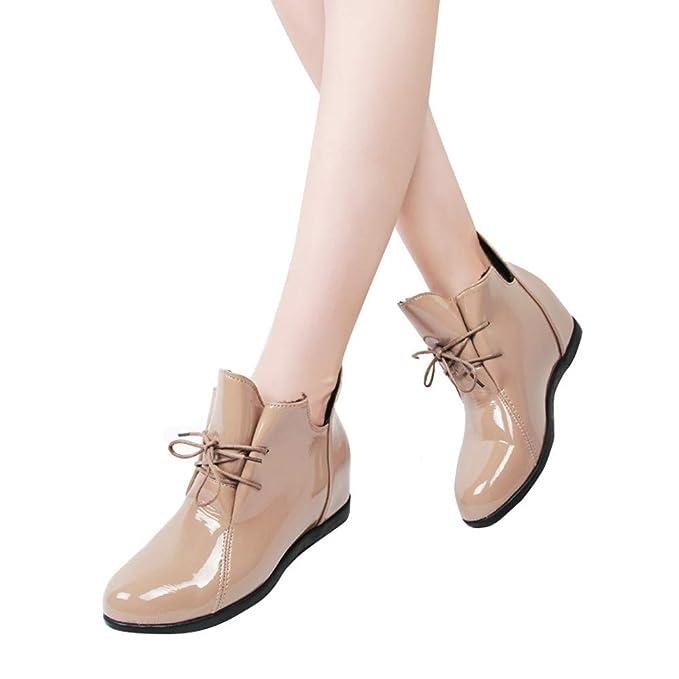 Vovotrade scarpa da Donna in Vernice con Lacci c9c21282722