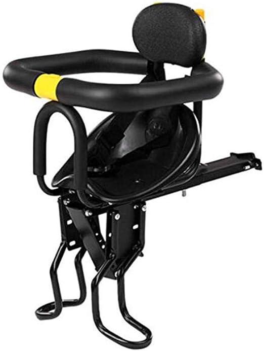 QLIGHA Bicicleta eléctrica Asiento Delantero del niño Totalmente ...