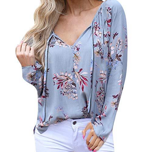Padaleks Womens Hoodie Flower Print Drawstring Zip Pocket Hooded Pullover Tunic Tops Blouse from Padaleks Sweater