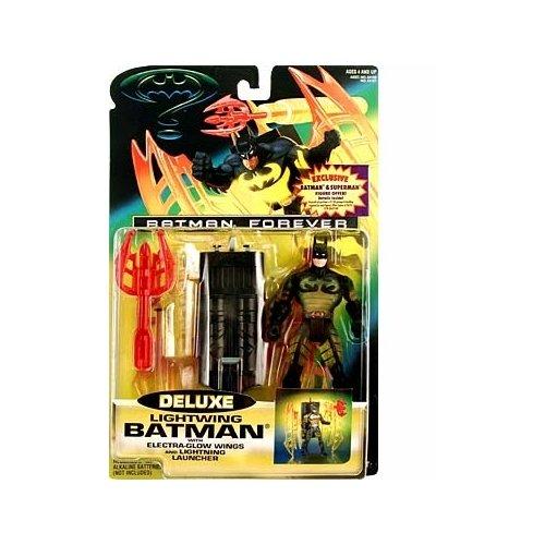 Batman Forever Deluxe Lightwing Batman Action Figure