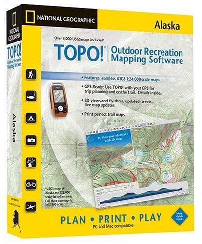 TOPO National Geographic Topographic Alaska