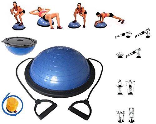 Exercise Balls Yoga Ball Balance Trainer Yoga Fitness Strength Exercise Workout w/Pump yoga balls for classroom yoga