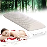 Thai Latex Foam Pillow Cervical Orthopedic 100% Natural Ventilated Pressure Release Cosmetic Thailand Latex Pillows