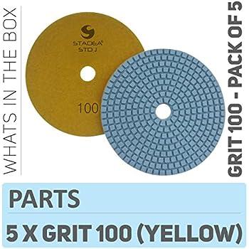 "3/"" STI Terrazzo M Pads 100 Grit Terrazzo and Concrete Polishing Pads"