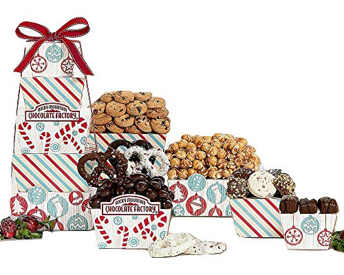 Wine Country Gift Baskets Rocky Mountain Chocolate Factory Holiday Gift Tower