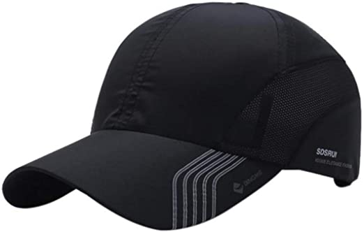 running sun visor// outdoor sports cap,mens//womens,black,2 working days delivery