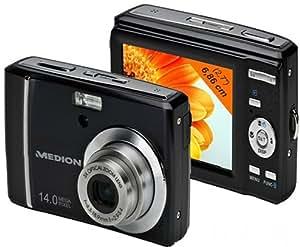 Medion MD 86388 E43014 - Cámara digital (14 Mpx, zoom óptico 3x , grabación HD 720p)