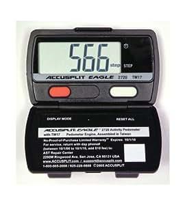 Sportime 025538 Pedometer Accusplit AE 2720 Set of 12