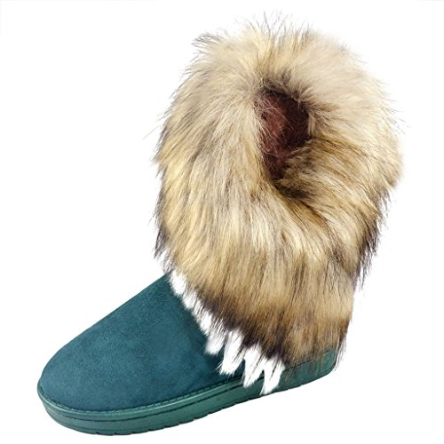 Boots Snow Winter Snow Boots Women's Juleya Winter 2017 Ankle Fur Boots Boots Warm Boots Elegant v8qn5x