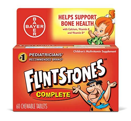 Flintstones Complete Multivitamin Chewables - 60 ct