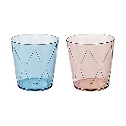 WINZSC 1 UNID Plástico Boca de Cristal Taza Creativo Cepillo de Dientes Transparente Cepillo de Dientes