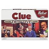 Clue Classic Detective Board Game Retro Series Reissue by Hasbro