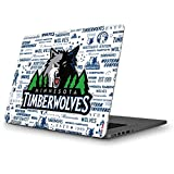 Skinit NBA Minn. Timberwolves MacBook Pro 13 (2013-15 Retina Display) Skin - Minnesota Timberwolves Historic Blast Design - Ultra Thin, Lightweight Vinyl Decal Protection