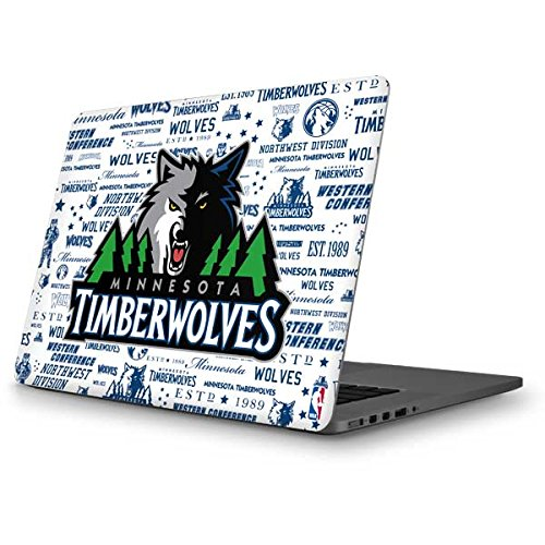 Skinit NBA Minn. Timberwolves MacBook Pro 13 (2013-15 Retina Display) Skin - Minnesota Timberwolves Historic Blast Design - Ultra Thin, Lightweight Vinyl Decal Protection by Skinit
