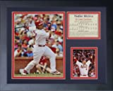 "Legends Never Die ""Yadier Molina"" Framed Photo Collage, 11 x 14-Inch"
