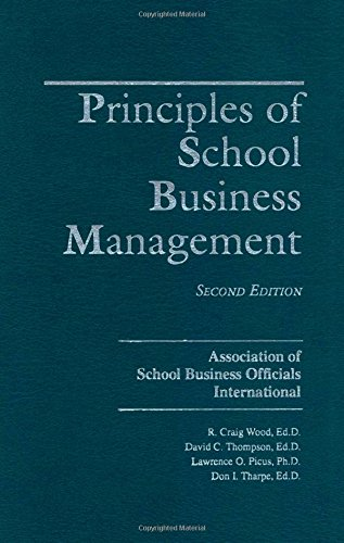 Principles of School Business Management