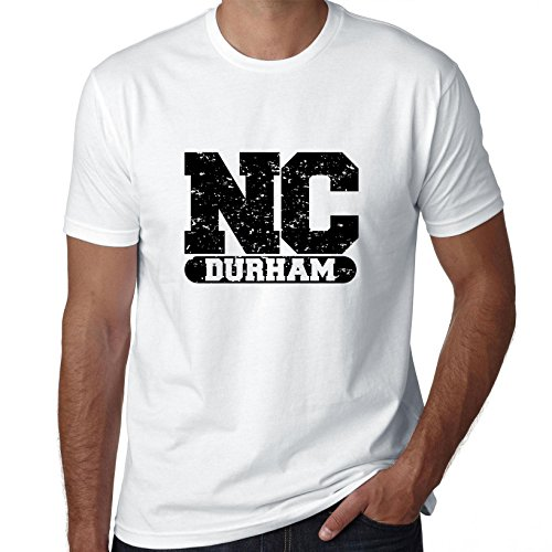 Hollywood Thread Durham, North Carolina NC Classic City State Sign Men's T-Shirt -